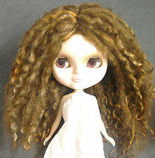 Teeswater Doll Wig Copper Brown