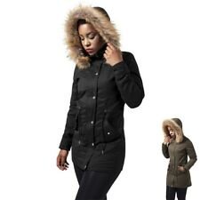 Urban Classics Ladies Sherpa Lined Peached Parka