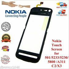 NOKIA TOUCH SCREEN DIGITIZER 501 5233 5230 5800 Asha 311 C2 X3