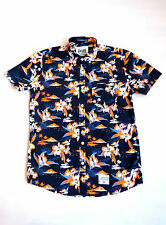 Superdry South Banco Surf Camisa Manga Corta Honolulu Naranja