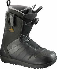 Salomon Snowboard Boots - Launch BOA STR8JKT Snowboard Mens Boots Black - 2017