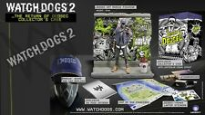 NEW! WATCH DOGS 2 The Return of Dedsec Limited Edition Collectors Case (NO GAME)