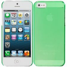 iPhone 5/5S Neon Trasparent Snap-On Plastic Skin Case WOW Technologies