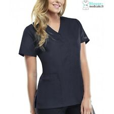 Blouse Médicale Pression Femme Cherokee 4770 Gris Anthracite