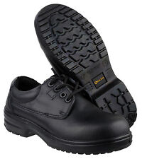 Amblers FS121C Safety Ladies Black Composite Toe Cap Womens Shoes Boots UK2-8