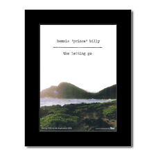 BONNIE PRINCE BILLY - The Letting Go Matted Mini Poster