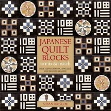 Japanese Quilt Blocks by Susan Briscoe 9780713682465 (Paperback, 2007)