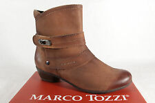 Marco Tozzi 25356 Women's Boots Ankle Boots Genuine leather brown NEW