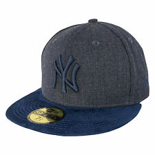 New Era 59FIFTY Heather Suede New York Yankees Fitted Cap