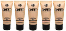 W7 Sheer Coverage Foundation - Choose From 5 - Matte Makeup