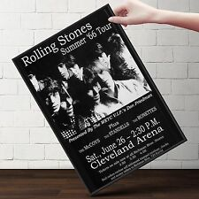 ROLLING STONES Summer 1966 Tour Poster  | Gifts For Guys | FREE Shipping