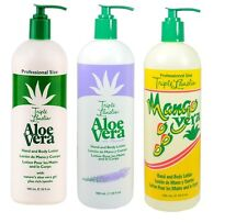 Triple Lanolin Mango Vera Aloe Vera  Lavender Hand & Body Moisturising Lotion UK
