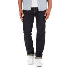 Edwin - ED-80 Slim Tapered Pants 63 Rainbow Selvage Denim, 12.8oz Unwashed Hose