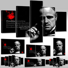 Canvas Picture Wall Tattoo Art Print Der Pate Vito Don Corleone The Godfather