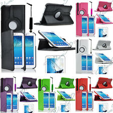 Cover Case In Pelle 360 compresse Samsung Galaxy Tab 3 III 7.0 P3200 3210