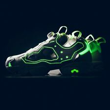 REEBOK X EMPTY CANVAS INSTAPUMP FURY (WHITE/GLOW IN THE DARK) AR0418 MEN'S