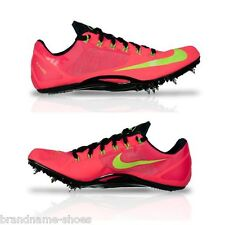 MENS NIKE ZOOM SUPERFLY R4 FLURO PINK LIME RUNNING SPIKES RUNNERS TRAINING SHOES