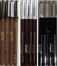 SAFFRON WATERPROOF EYE BROW EYELINER PENCIL BLONDE DARK BROWN BLACK EYEBROW ASH
