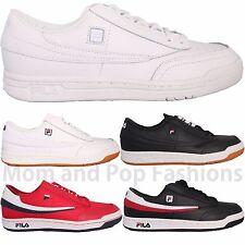 Mens Fila ORIGINAL TENNIS OT Casual Athletic Shoes Sneakers White Black Gum