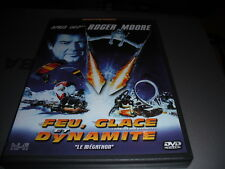 "dvd "" feu, glace et dynamite "" Roger Moore "" neuf"