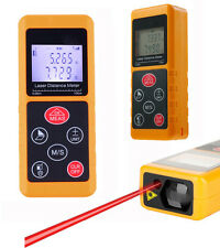 Latest 40/60M Digital Laser Distance Meter Test Range Finder Measure Diastimeter