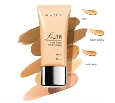 Avon Ideal Flawless Nude Matte Fluid Make-up Choose your Shade SPF15 30ML