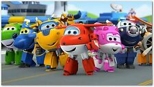 Super Wings Deformation Airplane Robot Action Figures 15 cm