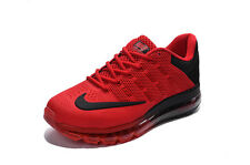 new nike air max+2016 kpu men's running shoes red&black colors and many siz