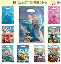 Childrens Gift Theme Party 10 Bags Loot Sweet Bag Character Birthday Celebration