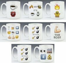 Emoji Mugs | Coffee Tea Mugs | Great Gift Idea | Gift Boxed
