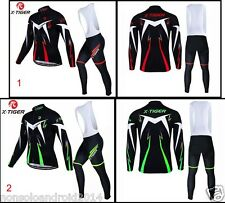CYCLING WINTER SET BIKE MTB FLEECE COMPLETO INVERNALE IN PILE CICLISMO MTB