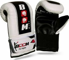 BOOM Prime Boxing Punch Bag Mitts MMA Sparring Gloves UFC Training Muay Thai