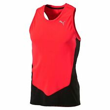PUMA Running Men's Lightweight Singlet Running Singlet Male Nuevo
