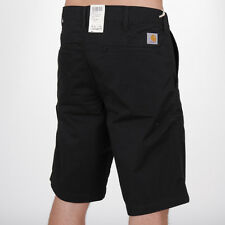 Carhartt WIP Presenter Bermuda Shorts Black Herren Chino Short Hose Schwarz