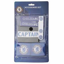 Chelsea FC Official Football Crest Sports Accessory Set