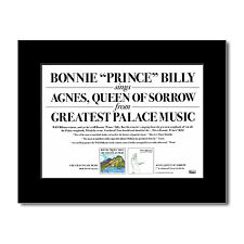 BONNIE PRINCE BILLY - Agnes Queen of Sorrow Matted M...