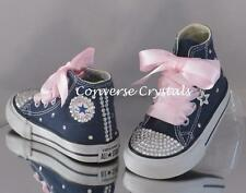 c7211b50e5ed Girls Custom Crystal  Bling  Converse Infant Size 2-10. Other Colours  Available