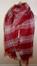 Cosy Large Tartan Plaid Check Soft Blanket  Scarf  Wrap Pashmina 3 Colours