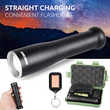 6000 LM Shadowhawk X800 XM-L T6 LED Adjustable Focus Flashlight Zoomable Torch