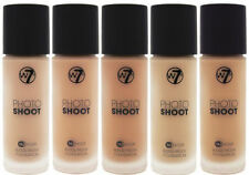 W7 Photo Shoot Foundation - Choose From 5 - Flawless Coverage Matte