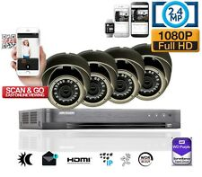 8 Channel Hikvision DVR 1080P CCTV HDD Home Security Camera System HDMI HD KIT