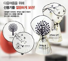 4 Pcs Round Electric Fan Dust Cover Dustproof Stand Wall-mounted Protection noo