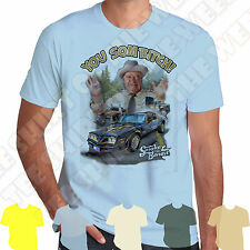 Smokey & The Bandit Buford T Justice T-shirt 100% Cotton,  7 colours to choose
