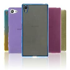 Custodia Protezione Sony Xperia S/X-Style Trasparente Ombré Slim Crystal Brushed