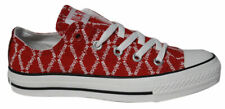 Converse Chuck Taylor All Star Red Edition Lo Top Unisex Trainers 102089F M4