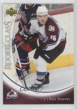 2006-07 Upper Deck Rookie Class #22 Paul Stastny Colorado Avalanche Hockey Card