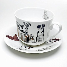 Roy Kirkham - Dogs Galore - Breakfast Cup and Saucer