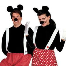 Istantaneo Kit Mouse Mickey Minnie Costume A Pois Rosso Compleanno Halloween
