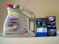 Castrol Power 1 Racing 10W50 Öl Ölfilter HONDA CBF600 N/S PC38 Bj 04-07