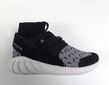 Adidas Originals Men's TUBULAR DOOM Shoes Core Black/White Patterned S80096